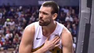 Breaking News: Marc Gasol Out For Weeks with Hamstring Injury