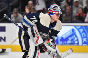 Breaking News: Joonas Korpisalo Out For 4-6 Weeks with Torn Meniscus Right Knee