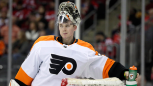 Breaking News: Carter Hart Out For 2-3 Weeks with Lower Abdominal Strain