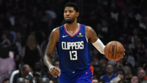 Paul George Out With Strained Left Hamstring