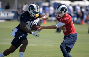 Falcons Sign Former Rams Running Back Todd Gurley