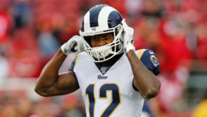 Los Angeles Rams Trade Brandin Cooks and a Fourth Round Pick to Houston Texans for A Second Round Pick