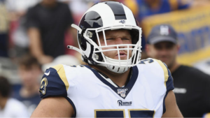 Los Angeles Rams C Brian Allen Tests Positive for COVID-19, First NFL Player
