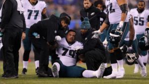 Eagles G Brandon Brooks Tears Achilles, Out for 2020 Season