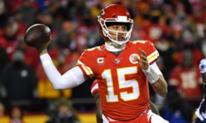Patrick Mahomes Signs 10-Year Contract With Chiefs Worth Up To $503M